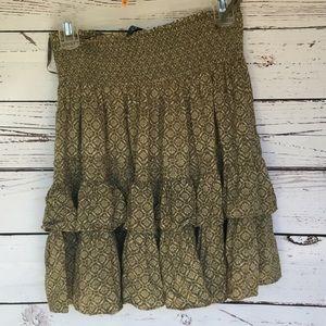 New Lauren Ralph Lauren Raffle  Flowy Skirt Sz 2P